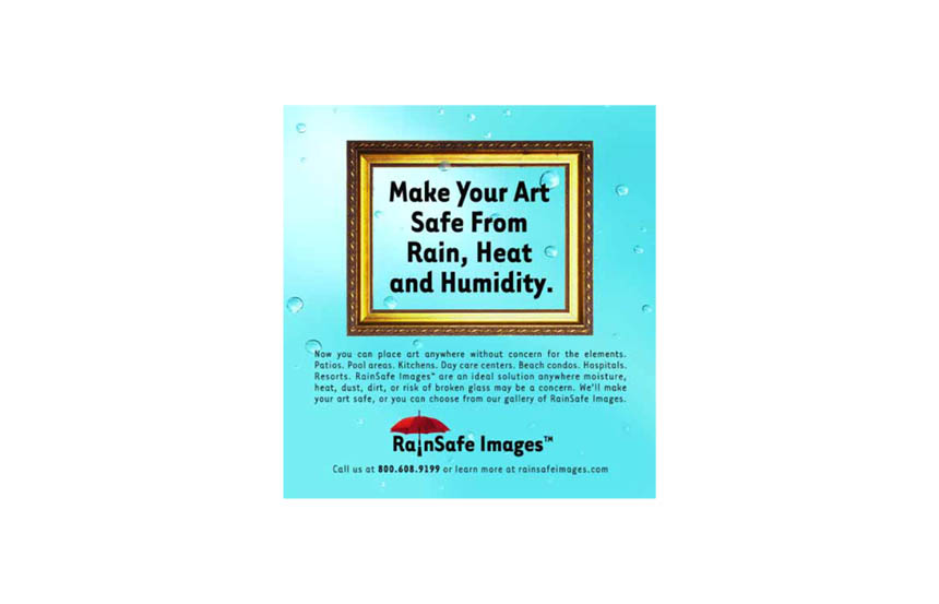 Magazine ad | RainSafe Images