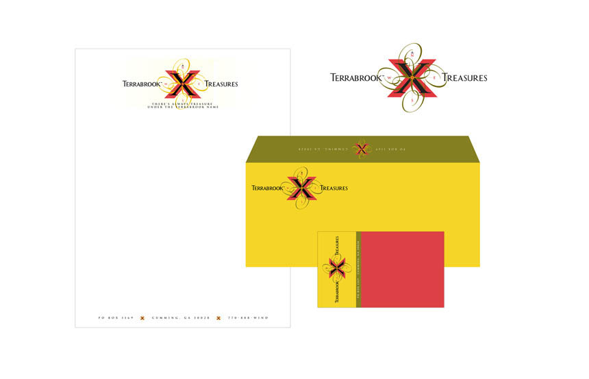 Logo design & layout for promotional letterhead directed to real estate brokers | Terrabrookok