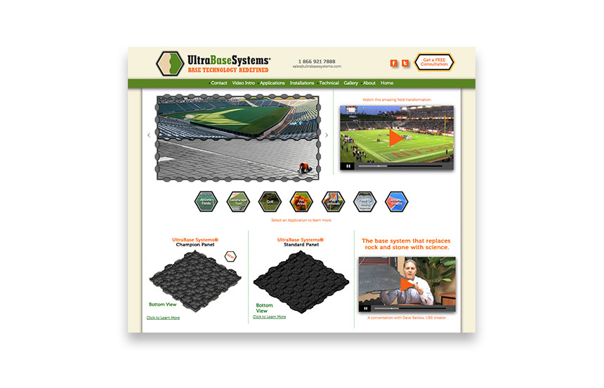 Modular sports base system for synthetic turf athletic fields and athletic courts | [url=http://www.ultrabasesystems.com]ultrabasesystems.com[/url]